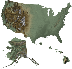 United States Elevation Data- Digital Elevation Models