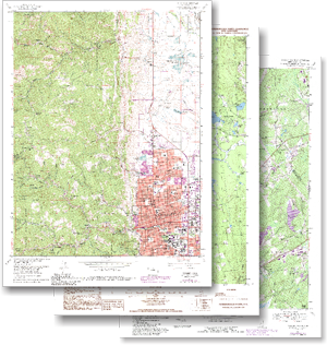 Digital U S Topographic Maps Usgs