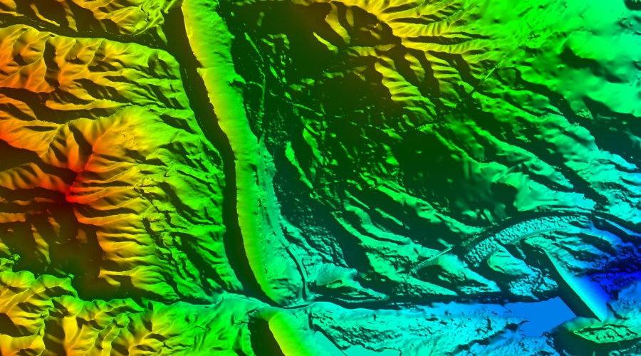 Intermap 5m elevation data