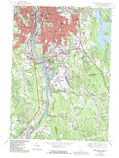Manchester South NH USGS Topographic Map