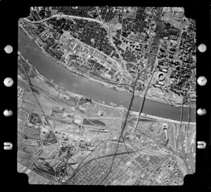 St. Louis MO Historic Aerial Photograph