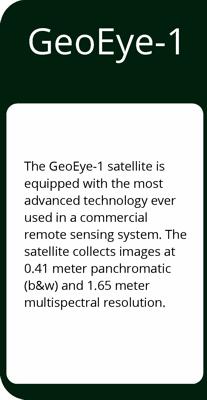 DigitalGlobe GeoEye-1 Satellite Imagery